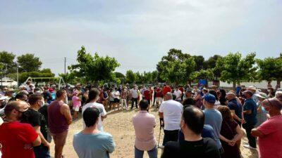 Manifestació a Roda de Berà contra les ocupacions il·legals
