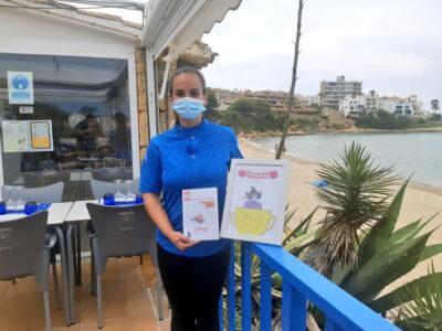 La xef Sara Nicolás, del restaurant Voramar Cal Vitali, s'endú el premi a la millor tapa de 'La Xoixeta'