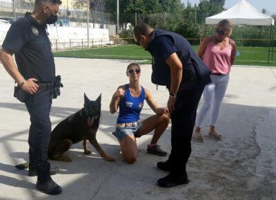 Altafulla acull les Jornades d'Operativa Policial amb Unitats canines K9