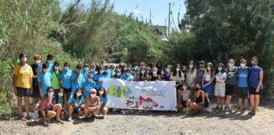 Nova edició del camp de treball dels Muntanyans amb la participació d'una vintena de joves