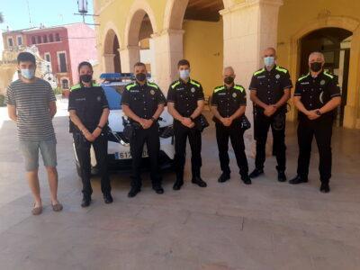 Altafulla reforça la plantilla de policia per als mesos d'estiu amb cinc nous agents