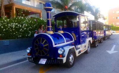 El trenet turístic d'Altafulla manté el recorregut i la freqüència dels viatges