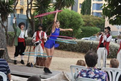El Pleniluni Circus de Torredembarra tanca edició amb 600 espectadors
