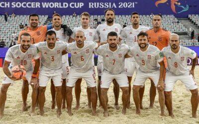 La Selecció Espanyola debuta amb una golejada contra Moçambic (4-8) en Mundial de Futbol Platja