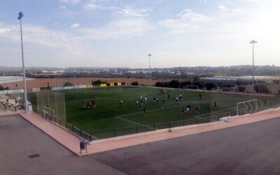 La RFEF subvenciona amb 9.000 euros les millores al camp de futbol de l'estadi municipal Joan Pijuan