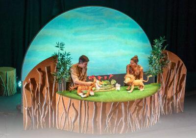 L'espectacle de titelles 'Les aventures del lleó vergonyós', del Pot Petit, arriba el 13 de novembre a Torredembarra