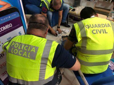 Intervenen a Torredembarra articles de telefonia falsificats per valor de més de 6.000 euros