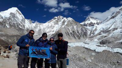 El Chulu West, de 6.419 metres: el nou objectiu del Club Excursionisme Torredembarra