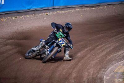El pilot de la Pobla Gerard Bailo queda a un punt del podi en el Campionat del Món de Dirt Track